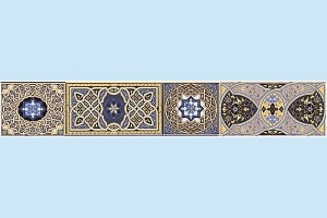 Плитка декоративная Атем - Aladdin Pattern B