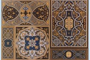 Плитка декоративная Атем - Aladdin Pattern Mix B