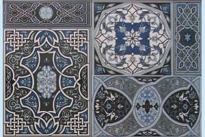 Плитка декоративная Атем - Aladdin Pattern Mix BL