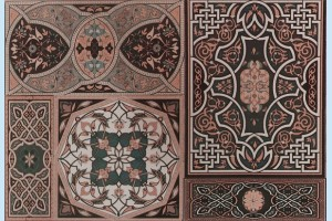 Плитка декоративная Атем - Aladdin Pattern Mix M
