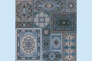 Плитка напольная Атем - Aladdin BL