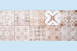 Плитка керамическая Атем - Izmir Vintage B