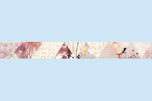 Плитка декоративная фриз Cersanit - Casablanca modern