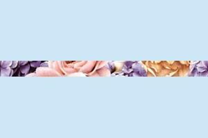 Плитка декоративная Golden Tile - Gortenzia 72Б301