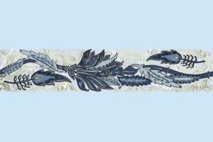 Плитка декоративная Golden Tile - Александрия В13351
