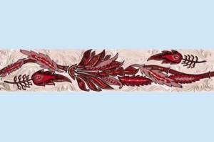 Плитка декоративная Golden Tile - Александрия В15351