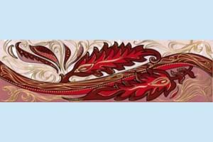 Плитка декоративная Golden Tile - Александрия В15331