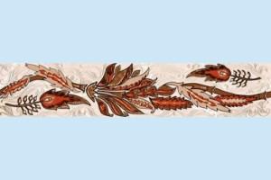 Плитка декоративная Golden Tile - Александрия В11351