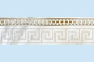 Плитка декоративная Golden Tile - Каррара Е50311