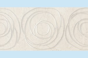 Плитка декоративная Golden Tile - Crema Marfil Orion Н51471