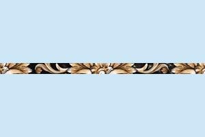Плитка декоративная Golden Tile - Saint Laurent 9АC301