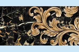 Плитка декоративная Golden Tile - Saint Laurent Decor 9АС311