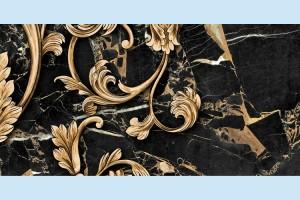 Плитка декоративная Golden Tile - Saint Laurent Decor 9АС341