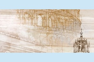Плитка декоративная Golden Tile - Savoy Coliseum 401311