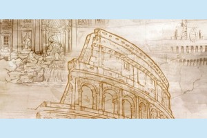 Плитка декоративная Golden Tile - Savoy Coliseum 401361