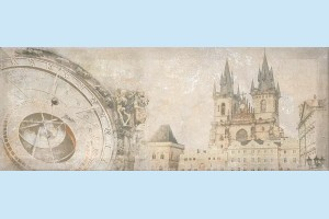 Плитка декоративная Intercerama - Antica Д 128 072-1