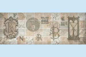 Плитка декоративная Intercerama - Antica Д 128 072-4