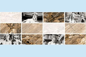 Плитка декоративная Intercerama - Caesar Д 117 071-1
