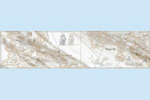 Плитка напольная Intercerama - Carrara БН 110 071