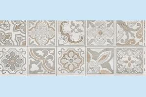 Плитка декоративная Intercerama - Dolorian Д 113 071-1