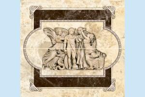 Плитка декоративная Intercerama - Emperador П 66 031