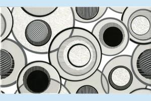Плитка декоративная Intercerama - Fluid Д 15 061-1