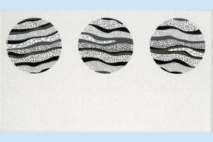 Плитка декоративная Intercerama - Fluid Д 15 061-2
