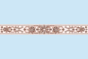 Плитка декоративная Intercerama - Ivory БВ 142 031
