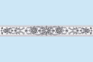 Плитка декоративная Intercerama - Ivory БВ 142 071