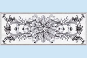 Плитка декоративная Intercerama - Ivory Д 142 071
