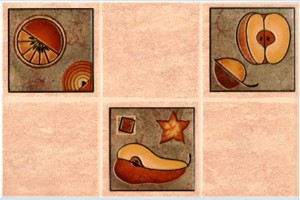 Плитка декоративная Intercerama - Lucia Д 21 022 2