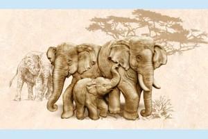 Плитка декоративная Intercerama - Safari Д 73 031