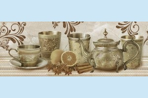Плитка декоративная Intercerama - Todor Д 124 021 - 2