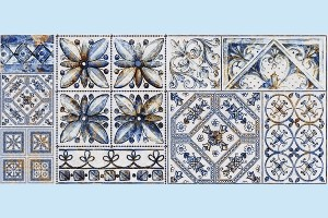 Плитка декоративная Intercerama - Viva Д 145 071-1