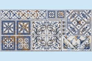 Плитка декоративная Intercerama - Viva Д 145 071-3