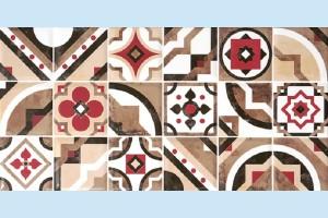 Плитка декоративная Керамин - Дюна 1 панно тип 2