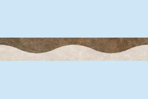 Плитка декоративная Керамин - Фриз Энигма