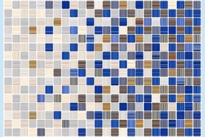 Плитка керамическая Керамин - Гламур 2С микс