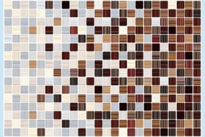 Плитка керамическая Керамин - Гламур 3С микс