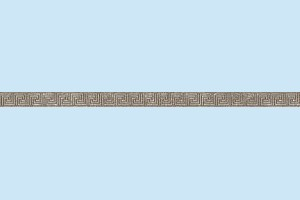 Плитка декоративная Керамин - Фриз Эллада 7