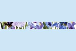 Плитка декоративная Керамин - Ирис фриз