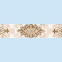 Плитка декоративная Керамин - Фриз Органза 4 275×62