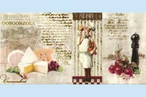 Плитка декоративная Opoczno - Old Provence inserto cheese