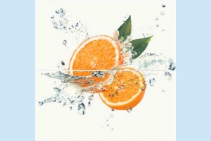 Плитка декоративная Opoczno - Water Sparkles Inserto Orange