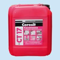 Грунтовка глубокого проникновения Ceresit CT 17 (10 литров)