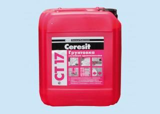 Грунтовка - Ceresit CT 17 (5 литров)