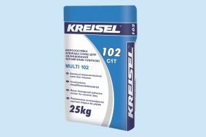 Морозостойкая клеевая смесь для облицовки керамической плиткой Kreisel - 102