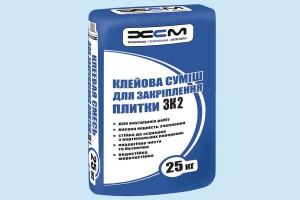 Клеевая смесь для закрепления плитки ХСМ - ЗК2