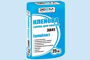 Клеевая смесь для плитки ХСМ - ЗК41